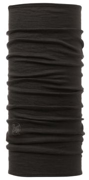 Merino Wool BUFF black