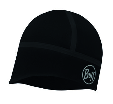 Windproof Hat solid black M-L